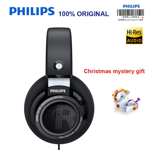 Philips SHP9500 Professional Headphones with Active Noise Cancelling 3 meter long headset for Xiaomi MP3 Official Test