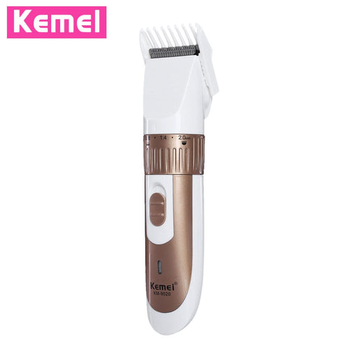 Kemei KM - 9020 Electric Hair Trimmer Clipper for Men Rechargeable Electric Adjustable Hair Clipper Shaver Cutter Styling Kits