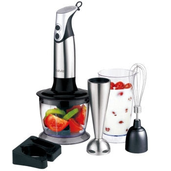 HB201 Multifunction Home Hand Hold Baby Complementary Food Juicer Machine Can Be Meat Beaten Eggs Blender