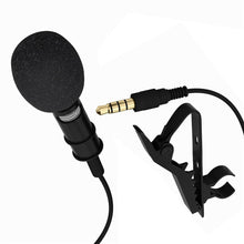 YIXIANG Mini Stereo HiFi Sound Quality Lavalier Clip-on Omni-directional Condenser Microphone For Smart Phone For PC