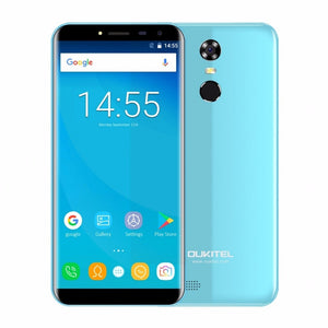Oukitel C8 4G 5.5 Inch 18:9 Aspect Ratio Infinity Display Android 7.0 2GB RAM 16GB Quad Core 3000mAh 13MP Fingerprint Smartphone