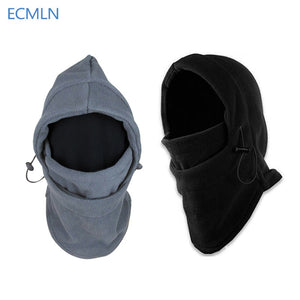 Winter warm Fleece beanies hats for men skull bandana neck warmer balaclava face mask Wargame Special Forces Mask 2017