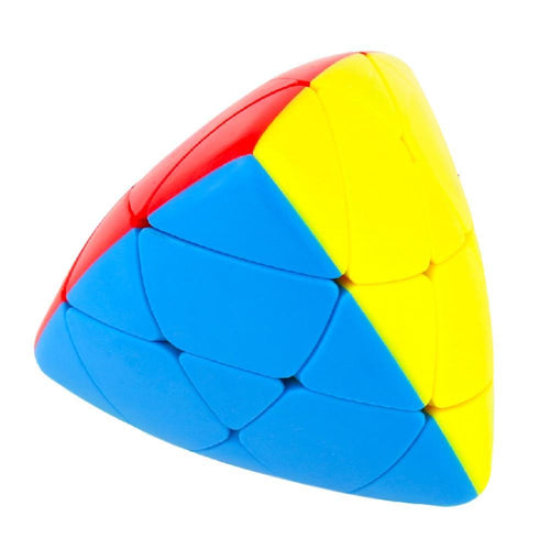 LeadingStar Pyramorphix Magic Cube Stickerless  Brain Teaser Skewb Cube Puzzle Toy for Magic Cubes Beginners zk25