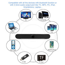 XGODY LP-S11 TV Soundbar Altavoz Bluetooth Speaker for Phone Laptop PC Sound Amplifier Speaker Caixa de som Subwoofer Column