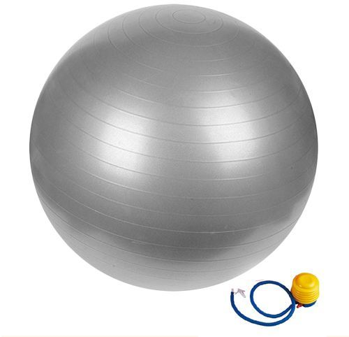Air Burst Gym Ball with Air Pump(65 cm)