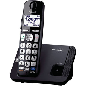 "Panasonic KX-TGE210B DECT 6.0 Plus Amplified Expandable Digital Cordless Phone System (1-Handset System) (""PANKXTGE210B"")"