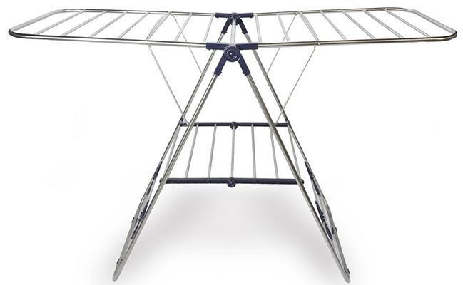 Clothes Drying Steel Hanger Rack Multi purpose for In-House and Outdoors