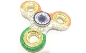 Indian Flag Metal Fidget Hand Spinner
