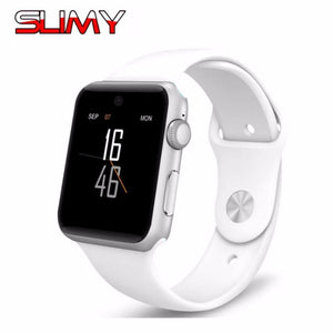 Slimy DM09 Bluetooth Smart Watch 2.5D HD Screen Support SIM Card Wearable Devices SmartWatch Magic Knob For IOS Android PK LF07