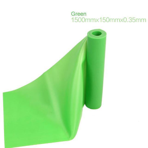 Latex Band Resistance Band  (Green, Pack of 1)