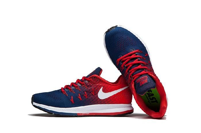 40269400a70597 Imported Nike Zoom 33 Blue Red Men s Running Shoes - onshopdeals.com ...