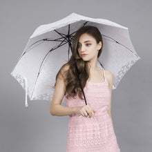 Party Decorate Lace Umbrella For Wedding Girls Princess Uv Sunshade Parasol Rain Umbrella Sombrilla Parasol Parapluie Women