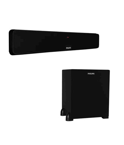 Philips Bar Speakers system with woofer (3000 W Pmpo)