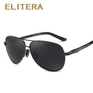 ELITERA Aluminum Magnesium Brand Polarized Sunglasses Men New Design Fishing Driving Sun Glasses Eyewear Oculos Gafas De So E210