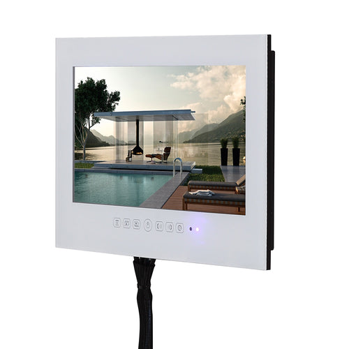 22 inch Free Shipping White or Black HDMI HD IP66 Bathroom TV Waterproof TV