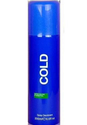UCB Cold Deodorant Spray - For Men(200 ml)(buy 1 Get 1 Deal)