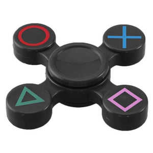 Playstation  Blue Metal Fidget Hand Spinner
