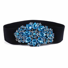 new fashion belts for women  elastic band  waistband rhinestone female free size free shipping
