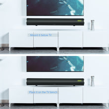 Arvicka Home Theater Soundbar 60W Wireless Sound bar 2.1 Channel Optical Bluetooth TV Soundbar with Subwoofer Home Speaker