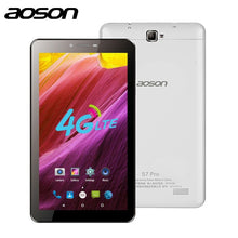 Aoson S7 PRO 7 Inch 4G LTE-FDD Phablet 8GB ROM HD IPS Screen Android 6.0 Phone Call Tablet PC Quad Core Dual Camera Wifi GPS