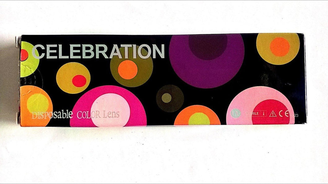 Celebration Fashion Color Contact lenses  - 5 Pairs - (0 Powers)