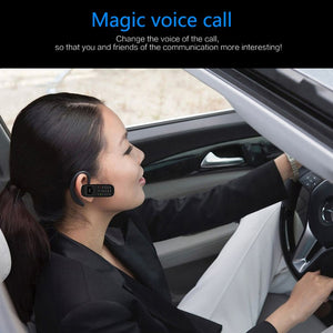 BM70 Magic voice Stereo Bluetooth headset earphone BT dialer GT star BM50 white list pocket cellphone mini mobile phone P040