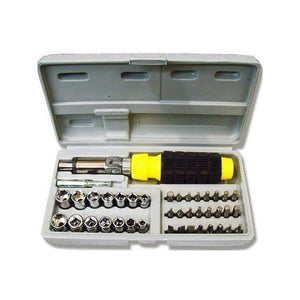 Aiwa 41 Pcs Screw Driver Tool Kit For Home, Office And Car