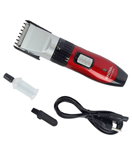 Nova Rechargeable Hair Trimmer & Shaver 3018 with blade adjustment