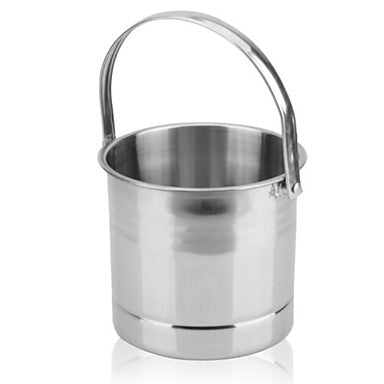 Ice Bucket & Wine Cooler Stainless steel, Wine Accessories High Quality Creative for Barware Easy to Use 1pc