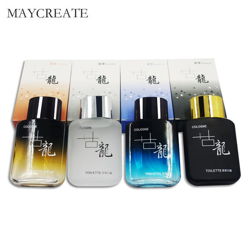 MayCreate 4Pcs/Set Men Perfume Lasting Fragrance Mini Bottle Portable Perfume For Men Male Cologne Perfume Brand Perfumes