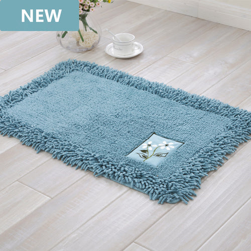 durable bathroom rug set,luxury big size bath tub mat non slip,door bathroom set carpet,bath mats rugs floor,60X90CM, 45X120CM