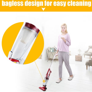 Vacuum Cleaner Ultra Quiet Strength Mini Household Rod Portable Hand Dust Collector Aspirator