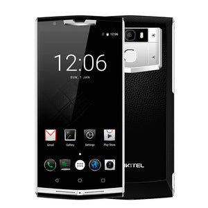 "Oukitel K10000 Pro Android 7.0 Mobile Phone 5.5""FHD Octa Core 3GB RAM 32GB ROM MTK6750T 12V/2A Quick Charge Fingerprint 10000mAh"