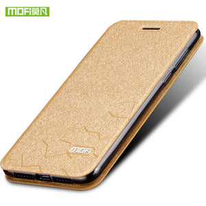 Huawei honor 9 case cover silicon luxury flip leather original mofi Huawei honor 9 case 5.15 transparent tpu back metal foundas