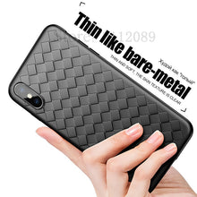 Weave Striae Phone Case For iPhone 8 7 6 6s Plus X 10 Luxury Ultra Thin Slim Back Cover For iPhone X 8 7 6 Plus Soft TPU Cover