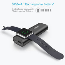 CHOETECH upgrade 2 in 1 Portable QC 4.0 Mobile Power Supply for IWatch Wireless Charger 5000mAh support USB-PD Type-C Power Bank