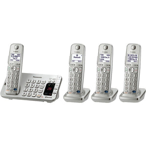 "Panasonic KX-TGE274S DECT 6.0 Link-to-Cell Bluetooth(R) Phone System (4-Handset System) (""PANKXTGE274S"")"