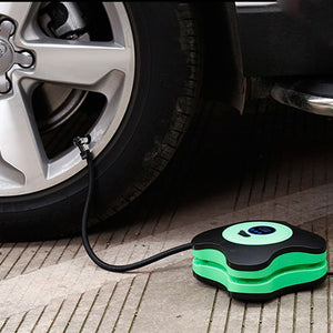 Kayme 12V 40psi car pump air compressor auto metal mini tire compressor electric portable tyre inflatable pump for Moto Bike