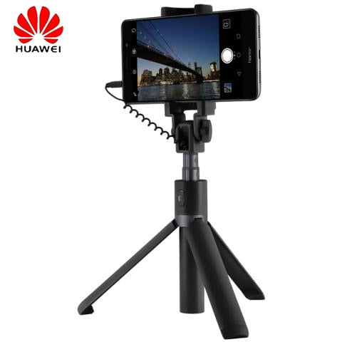 Original Huawei Honor Selfie Stick Tripod wired monopod for android IOS smart phone portable Extendable Handheld Shutter Holder