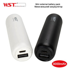 WST Original Mini Power Bank 3000mAh Portable External Battery Pack for Mobile Phone Portable Battery Charger Power bank Mini