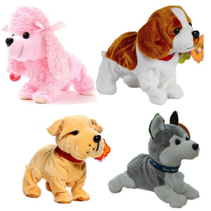 Sound Control Electronic Dogs Lovely Cute Interactive Pets Robot Dog Bark Stand Walk Electronic Toys Gift For Children Kids Baby