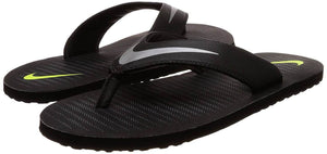 Nike Men's Thong Black Slippers (Size 8)