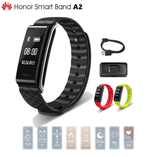 In Stock Original Huawei Honor A2 Smart Wristband 0.96