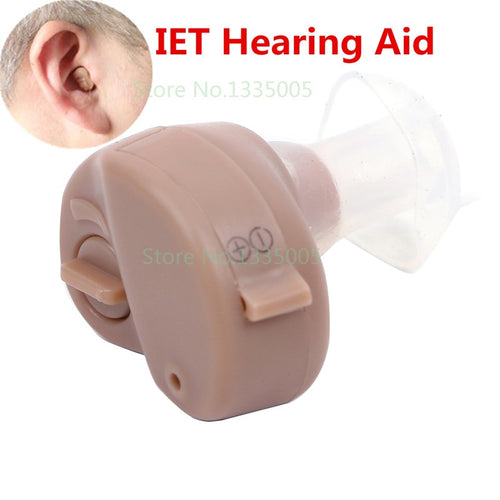 2016 New Hot Selling Ite Hearing Aid Portable Small Mini In The Ear Invisible Sound Amplifier Adjustable Tone Digital Aids Care