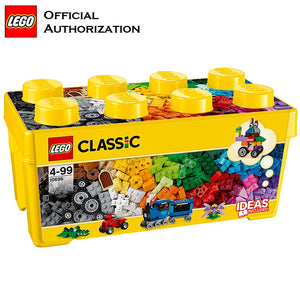 Original Building Blocks Toy Classic Series Ideas Creator Educational Lego Toy Box Blocks 10696 Free Building For Children Gift