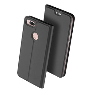 DUX DUCIS Leather Flip Case for Xiaomi Mi A1 Wallet Funda Book Phone Cover for Xiaomi Mi A1 Global xiomi mia1 my a1 5x 5.5