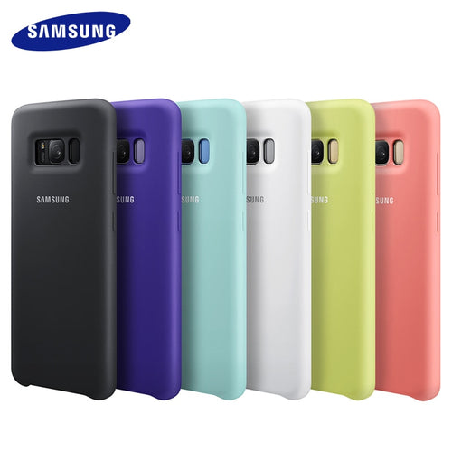 Original Samsung case for Samsung Galaxy S9 S8 plus note 8 cover silicone protective soft anti-wear wear protection cases Capa