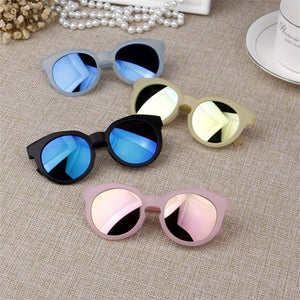 iboode Kids Sunglasses Colorful Reflective Mirror sunglasses Children Boy Girl Baby UV400 Protection Eyewear Shades Goggles