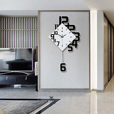 Modern / Contemporary Wood Novelty Indoor / Outdoor,AA Batteries Powered AA Wall Clock