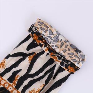 sexy Leggings Womens 2018 Leopard Leggings Print Skinny Pants High Elastic stretch pants female winter geometric jeans leggins